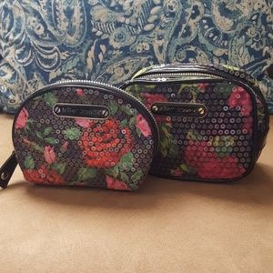 Betsey Johnson cosmetic bags